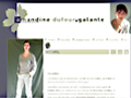 Amandine Dufour-Galante, comédienne | compagnie l'